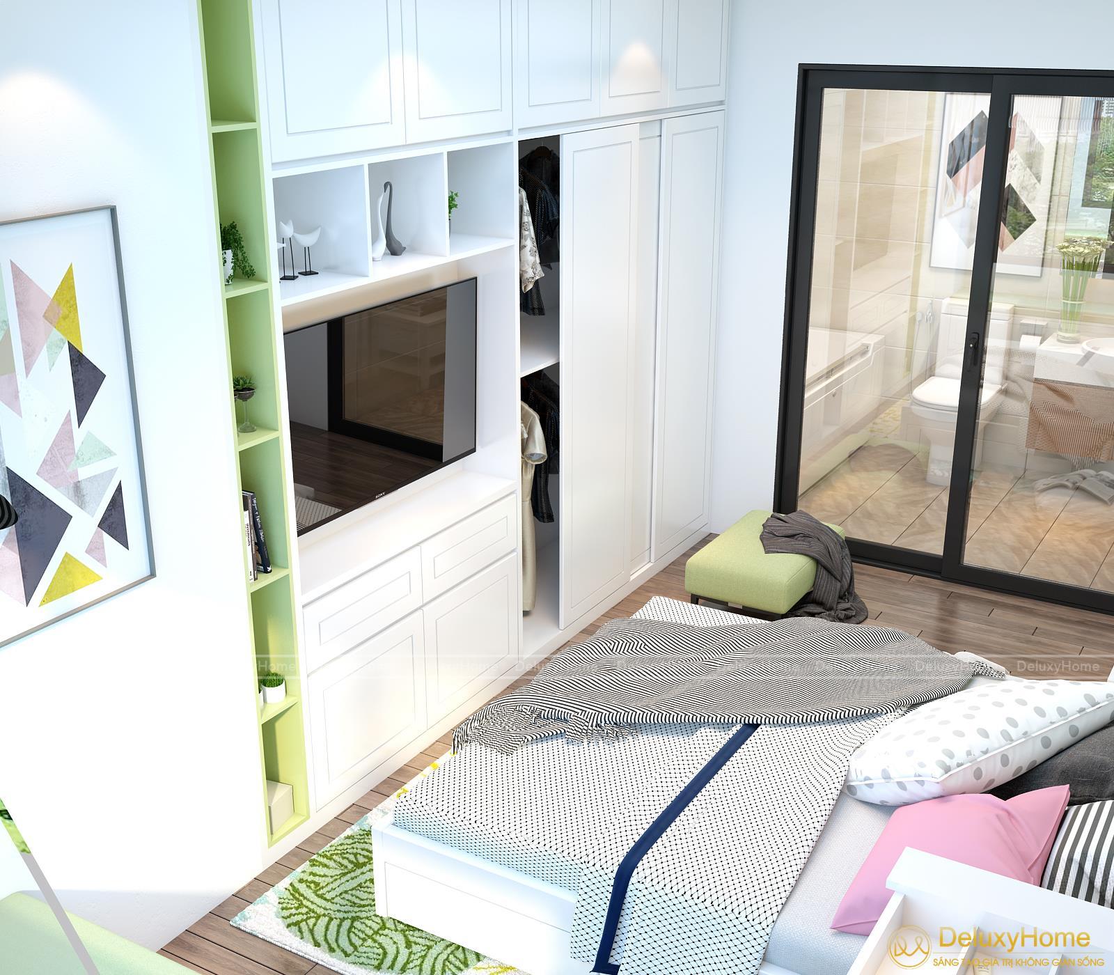 View 3 - Nội thất phòng ngủ