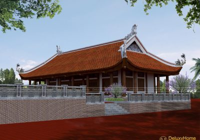 Thiết kế kiến trúc chùa Vân Tập