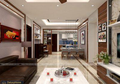 Chị Hường – Thiết kế nội thất căn hộ chung cư Florence Tower