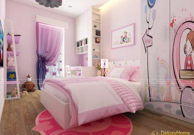 Mẫu Thiết Kế Nội Thất Phòng Ngủ Cho Bé Gái Nổi Bật Năm 2021