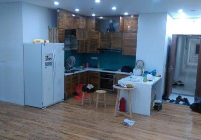 Hình ảnh thi công và hoàn thiện nội thất nhà anh Duy – Vimeco