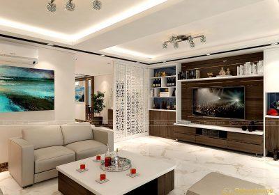 Thiết kế nội thất biệt thự – Chị Hiếu – KĐT Gleximco