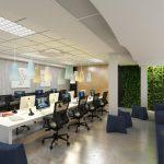 Tư vấn thiết kế nội thất văn phòng làm việc dành cho nhân viên